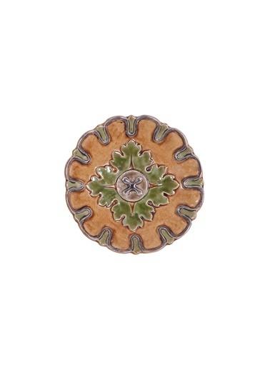 Warm Design Terra Cotta Duvar Tabağı Renkli